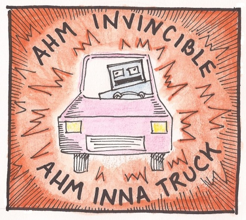 Ahm Inna Truck Color Invincible