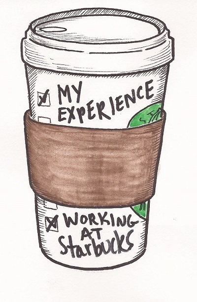 my experience working at starbucks
