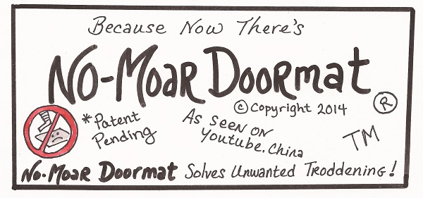 now theres no moar doormat